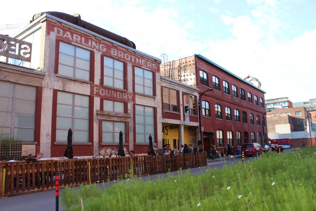 Le Centre d'Art Visuel La Fonderie Darling à Montréal. Canada