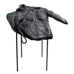 Angelika Markul, lauréate 2017 Mylodon de Terre, 2017 150x50x30cm Métal, cire, bois, feutre et corde © Sylvie Humbert / MAIF.
