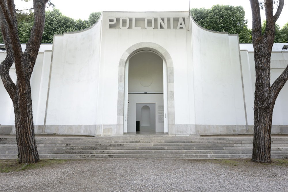 Polish Pavilion at the 57th Venice Biennal; photo: Bartosz Górka/Zachęta - National Gallery of Art.
