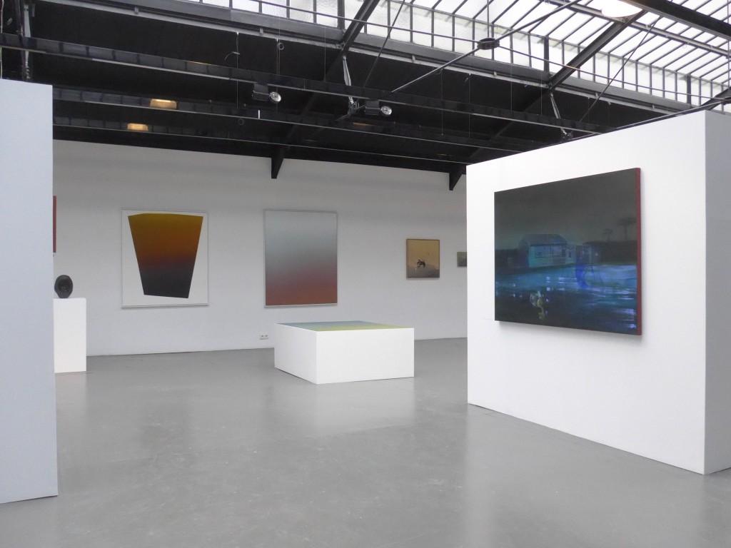 vue d'expo Art Collector 5x2+1 - Photo A. Greuzat 2017