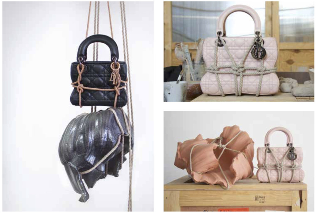 Le sac Lady Dior revisité par Morgane Tschiember.